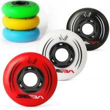 Slalom – roues de patins en ligne pour SEBA HV, jaune, vert, bleu, rouge, blanc, 80mm, 76mm, 72mm, 85A, 90A, 4 pièces/lot