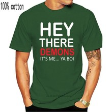 BuzzFeed Unsolved Hey There Demons It Me... Ya Boi Men Short Sleeve T-Shirt