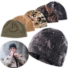 1 шт. зимние уличные флисовые шляпы ветрозащитные мужские и женские походные кепки s теплые флисовые рыболовные велосипедные кепки охотничьи военные тактические кепки s