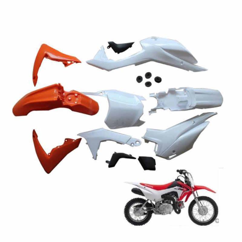 Kit Parafango Anteriore Moto Plastica Parafango Per Honda CRF50 XR50 SSR 50cc 70cc 90cc Bici