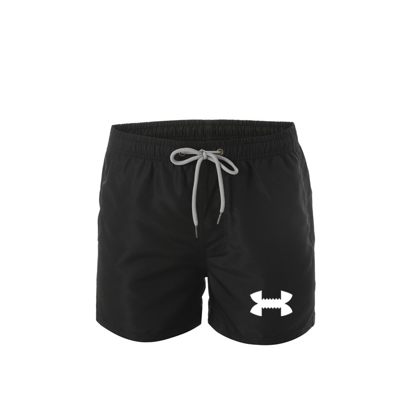 2019 Summer Men's Fitness Shorts Men's Gym Workout Men's Breathable Net Quick-drying Sports Jogging Beach Shorts