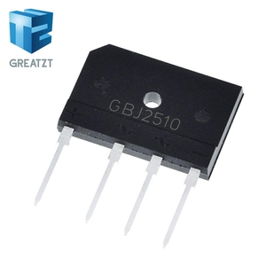 GREATZT 5pcs 25A 1000V diode bridge rectifier gbj2510 ZIP In Stock