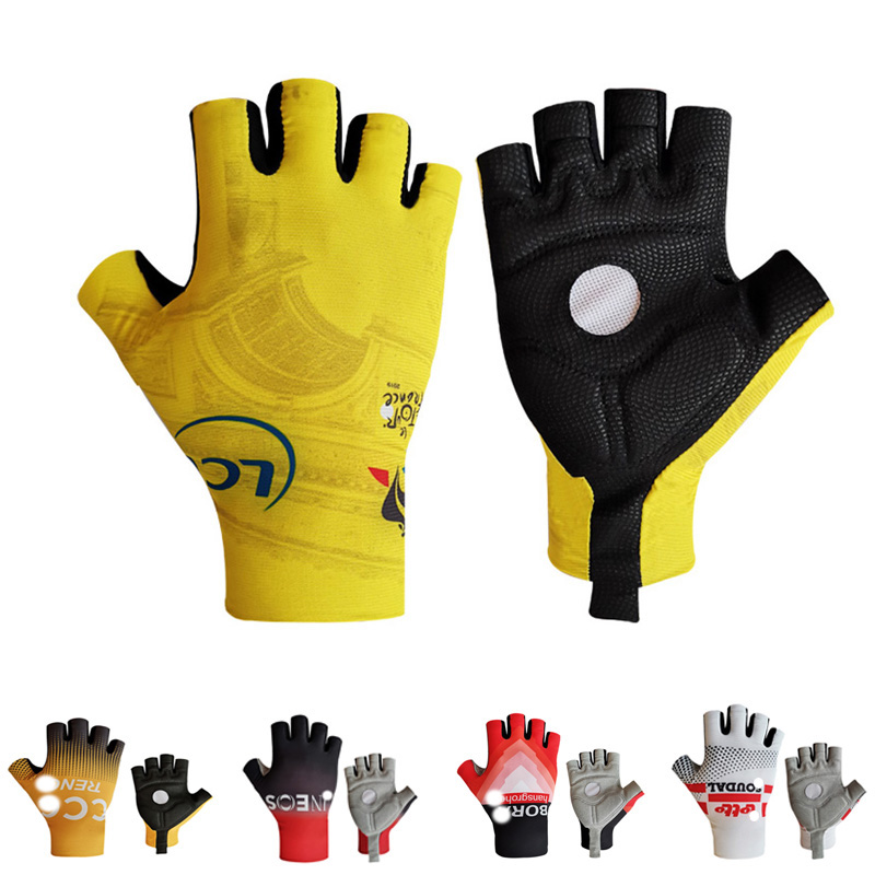 Half Finger Cycling Gloves Men Women's Mountain Bike Gloves MTB Road Bicycle Gloves  Breathable Non-slip Sports Glove
