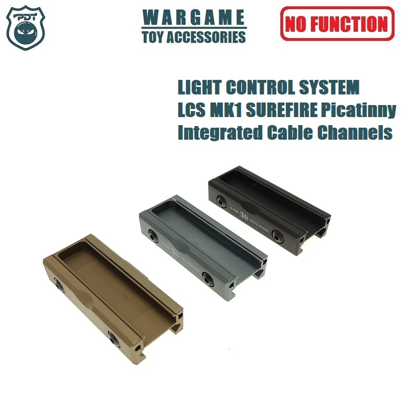 Light Control System LCSMK1 LCS Surefire Picatinny Integrated Cable Channels For Surefire M300 M600 Flashlight