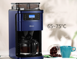 Donlim Coffee machine home automatic American drip type Italian grinder bean machine small commercial