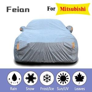 Плюс толстый бархатный водонепроницаемый полный чехол для автомобиля наружная УФ Защита от пыли и дождя снег защитный внедорожник седан хэ...