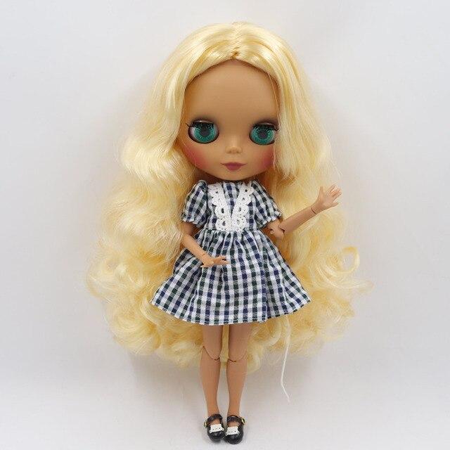 Elena – Premium Custom Blythe Doll with Cute Face 1