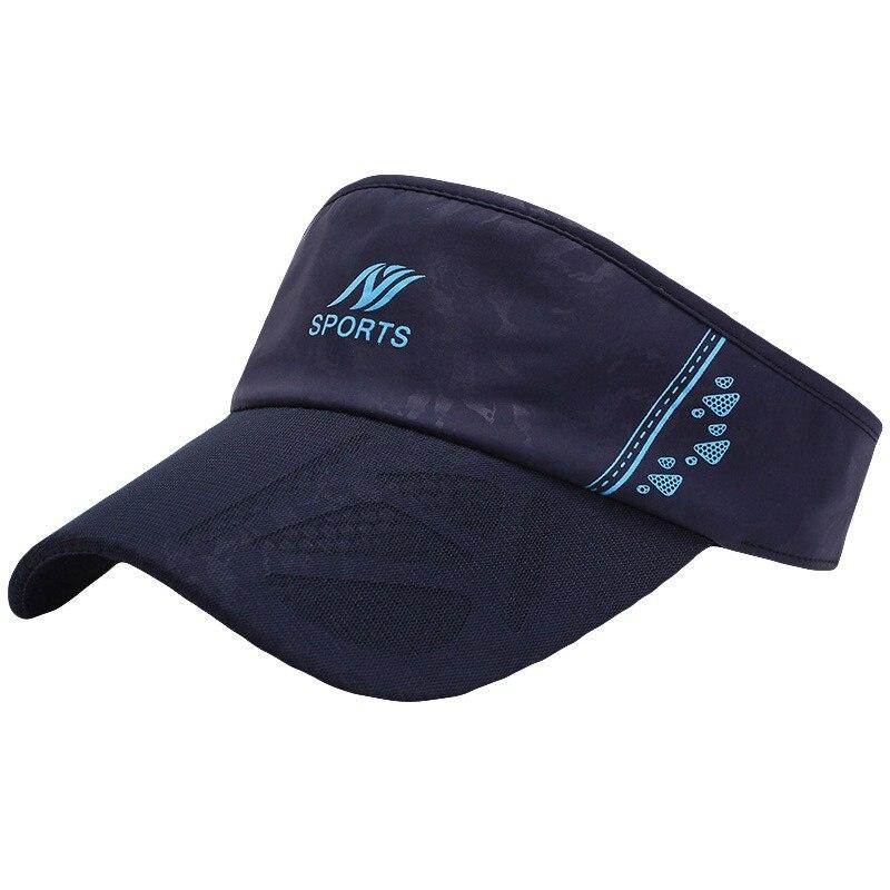 Empty-Top-Cap Visor Running-Cap Tennis Women Casual Hiking Summer Riding For Golf Sun-Hat