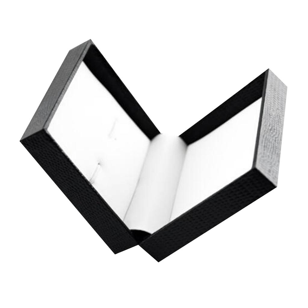 Luxury Cufflink Cuff Link Neck Tie Storage Box Mens Wedding 7x8x3cm Mini Travel Mens Jewelry Display