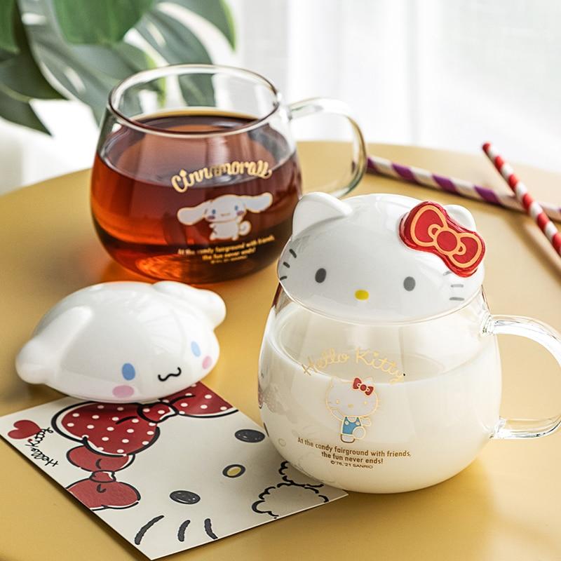 Kawaii Hello Kitty & Cinnamoroll Glass