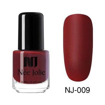 Coffee Gray Red Series Nail Art Polish Beauty & Skin Care Nail Art Color: 3.5ml Matte 09