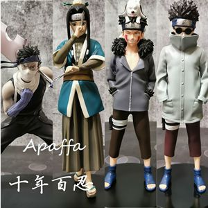 New Arrival NARUTO Shippuden Inuzuka Kiba PVC Action Figure Momochi Zabuza Haku Anime Figurine Collectible Model Toys Doll
