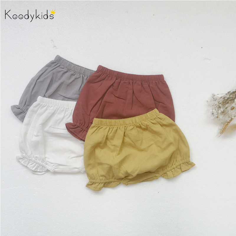 Koodykids Summer Baby Boys Girls Clothes Shorts Toddlers Boys Girls Vintage Thin Shorts Casual Clothes