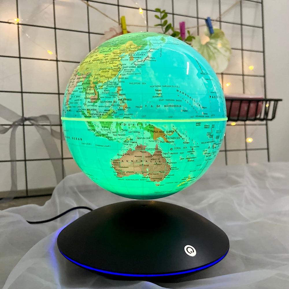 6 inch levitação magnética globo terrestre rotação