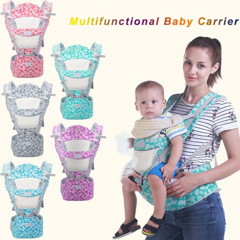 Ergonomics Kangaroo Carrier Baby Carrier Hipseat Breathable Portable Baby Backpack For Carring Children Wrap Infant Sling