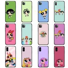 Jolie coque de téléphone à motif de dessin animé pour filles, compatible avec iPhone Samsung Note S A 6 7 8 9 10 20 51 11 12 Pro XS MAX S Plus X XR Ultra