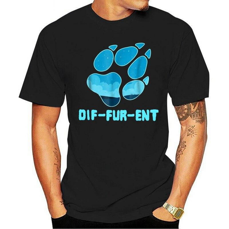 peluda do cão do lobo do diffurenda dos Homens 2021 t-shirt  da marca