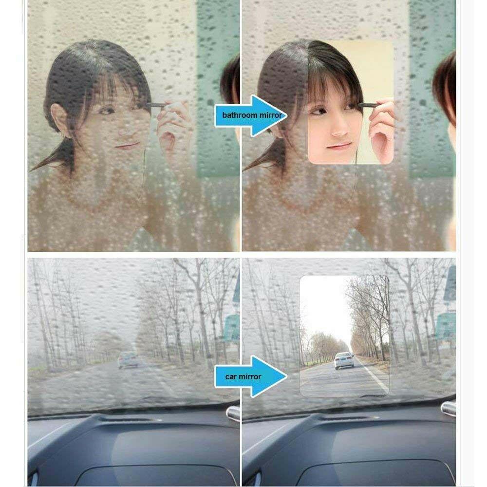 cheapest SUNICE 30cmx100cm Car Mirror Protective Film Anti Fog Film Anti Fogging Protective Film Clear Vision for Mirror Bathroom Use