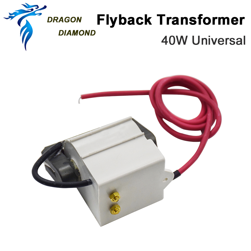 High Voltage Flyback Transformer For CO2 40W Laser Power Supply Mode