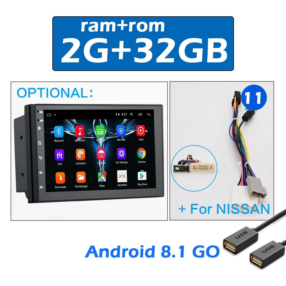 2 din CAR ANDROID 7 -11