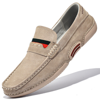 Men Loafers Shoes Genuine Leather For Men Casual Shoes 2021 New Brand High Quality Suede Moccasins Large Size Zapatos De Hombre 1