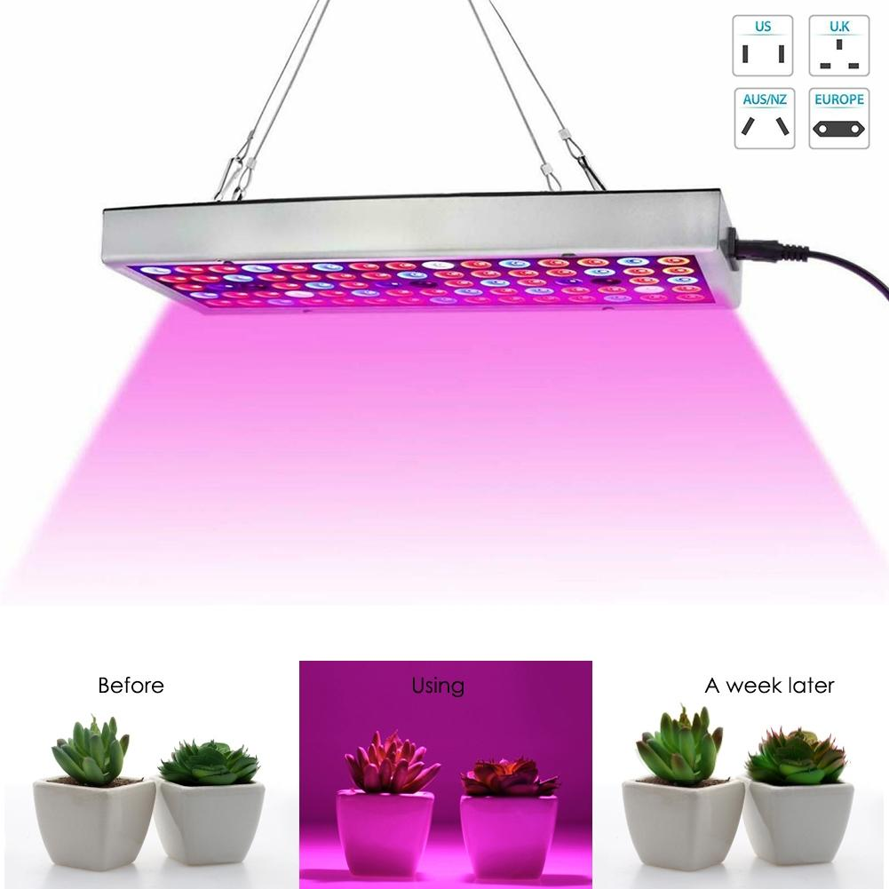 New 300W LED Grow Light Hydroponic Full Spectrum Indoor Veg Plant Lamp Panel Plant Grow Light Power Saving Grow Lights Sep 6