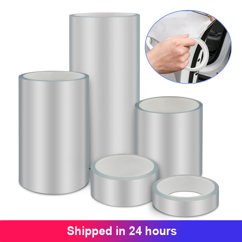 Clear Transparent Protective Film Car Door Edge Car Body Scratch Protector Auto Paint Anti Scratch Protection Sticker Nano Tape