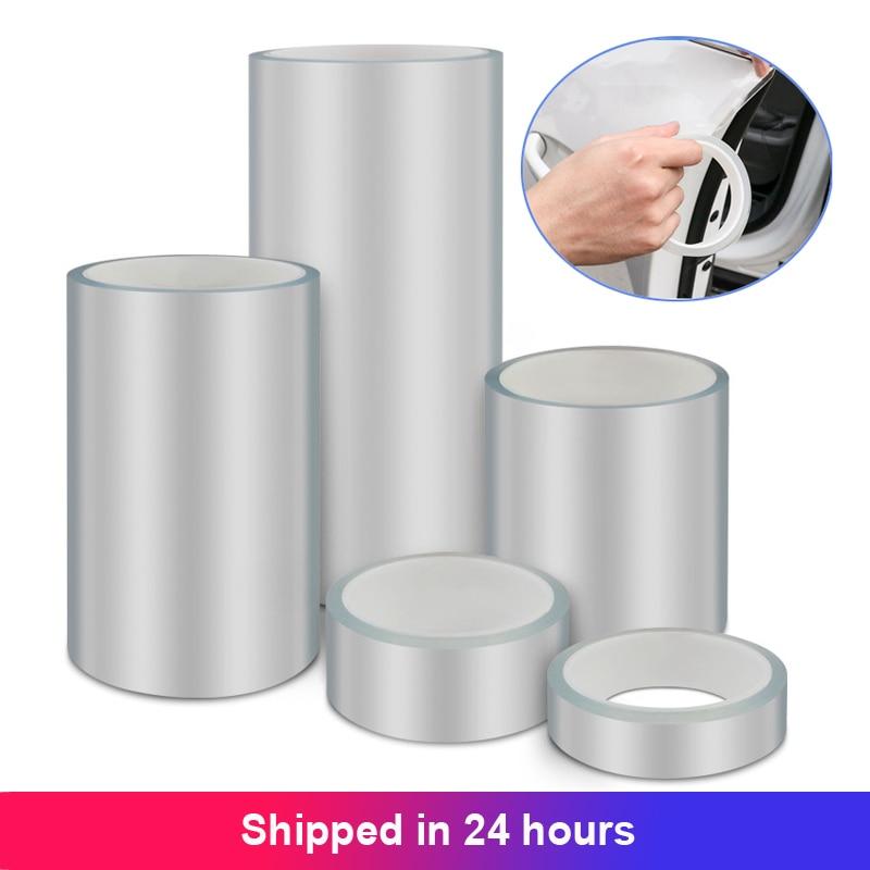 Clear Transparent Protective Film Car Door Edge Car Body Scratch Protector Auto Paint Anti Scratch Protection Sticker Nano Tape|Car Stickers|   - AliExpress