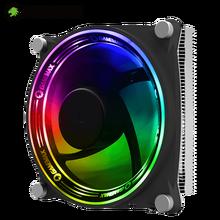 GameMax RGB CPU Cooler 5 Heat Pipes CPU Radiator for LGA 115X 775 1366 AMD AM4 AM3+ AM3 AM2+ AM2 FM2 FM1 939 940 754 Fan Cooling