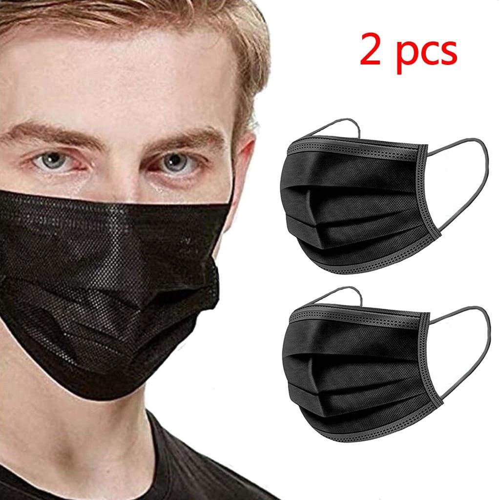 2 PCS Maske Dustproof Face Maske Reusable Washable Kpop Adult Cotton Face Maske Outdoor Youre Too Close Mouth Maske Respirator