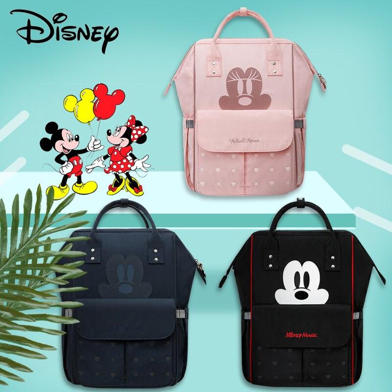 Disney sac à couches USB maman sac à dos mode momie maternité Nappy sac poussette sac grande capacité multifonctionnel bébé sacs nouveau