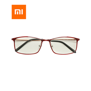 Image 1 - Newest Xiaomi Mijia Anti blue rays Glasses TR90 Metal Plastic Mixed Material Eye Protector For Man Woman xiaomi goggles