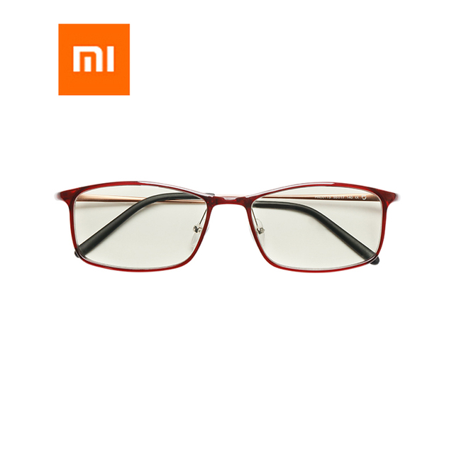 Newest Xiaomi Mijia Anti blue rays Glasses TR90 Metal Plastic Mixed Material Eye Protector For Man Woman xiaomi goggles