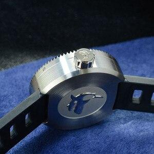 Image 5 - Мужские механические часы San Martin для дайвинга, 1000 м