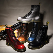 Male Shoes Adult Men Boots Genuine Leather Motorcycle Boots Men Shoes for Jason Martins Boots Desert Military Winter Snow Boots цена 2017