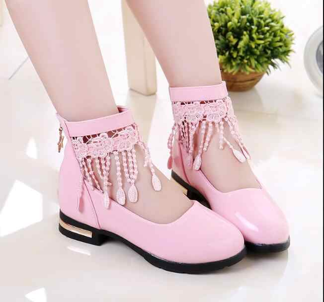 New Bowknot children shoes girls shoes