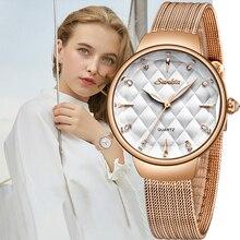 New SUNKTA Women Luxury Brand Watch Simple Quartz Lady Waterproof Wristwatch Female Fashion Casual Watches Clock reloj mujer