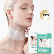 Collagen Neck Patch Hydrating Ectoin Neck Mask Anti-Wrinkle Anti-Aging Neck Pad Moisturizing Nourishing Fine Lines Remove