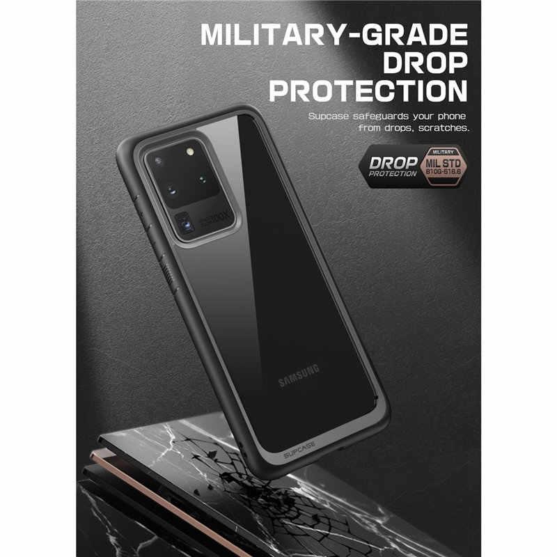SUPCASE para Samsung Galaxy S20 Ultra/S20 Ultra 5G caso (2020) UB estilo Premium híbrido de TPU parachoques protectora transparente cubierta de la PC