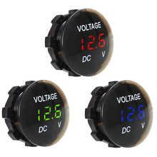 Voltage Meter Tester Led Display For Car Auto Motorcycle DC 12V-24V Mini Digital Voltmeter Ammeter Dropship