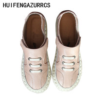 HUIFENGAZURRCS-Genuine Leather and ankle boots,Casual hand-made shoes,The retro art mori girl super soft shoes,Customized colors huifengazurrcs vintage leather boots super soft bottom arts and crafts hand made original women s shoes short ankle boots