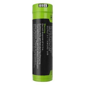 Image 2 - Batteria del computer portatile di ricarica della batteria della banca di Potere 4 Indicatore LED USB 5000M 18650 3.7V 3500mAh Intelligenza Li Ion Ricaricabile batteria