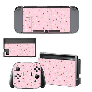 Image 4 - Animal Crossing Skin Sticker vinyl for Nintendo Switch sticker skin NS Console and Joy Con Controllers