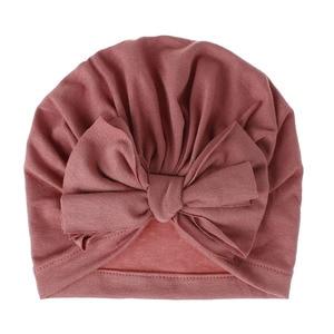 Children Baby Girls baby hats Boho Hat Beanie Scarf Turban Head Wrap Cap newborn photography props knit cap beard 15(China)