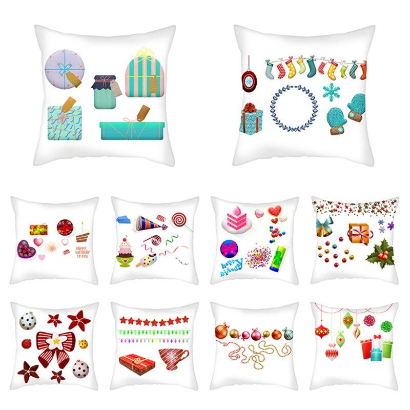 Купить nanacoba рождественский подарок чехол для подушки рождественские
