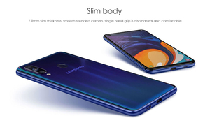 Image 2 - Samsung Galaxy A60 6 Gb 64G Nfc 6.3 Inch Volledige Scree Snapdragon 675 Octa Core 6 Gb 3500 Mah 32MP Camere Mobiele Telefoons