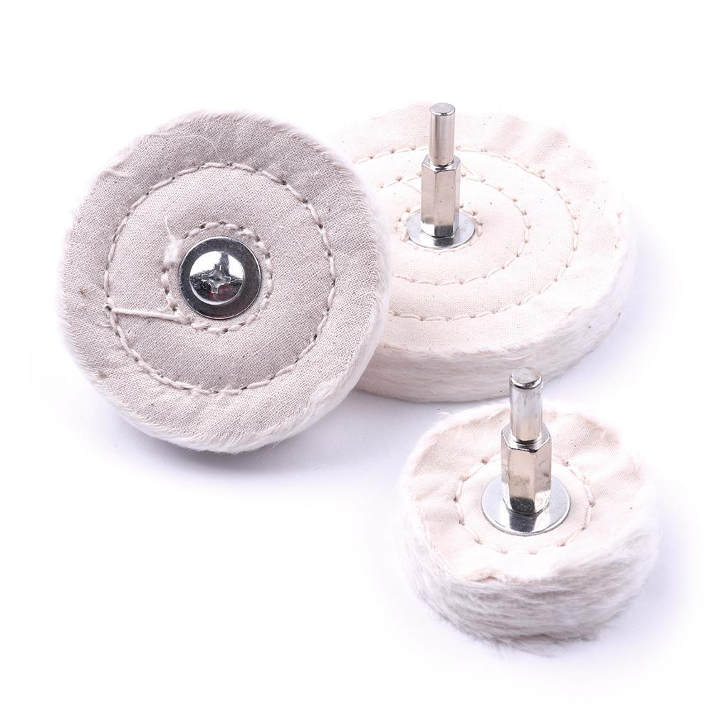 "1PC 50mm 75mm 100mm ""T"" Cloth Round Polishing Pad Diamond Polishing Pads For Metal Jewelry Wood Polish Tools"