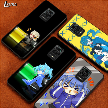 Black Soft Cover Enom Takane for Xiaomi Redmi Note 9 9S 8 8T 7 7S 6 5A 5 4X 4 Pro Max Prime Phone Case image