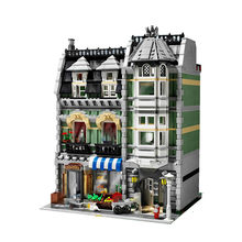 IN STOCK street view series model sets Green Grocer building blocks compatible with 10185