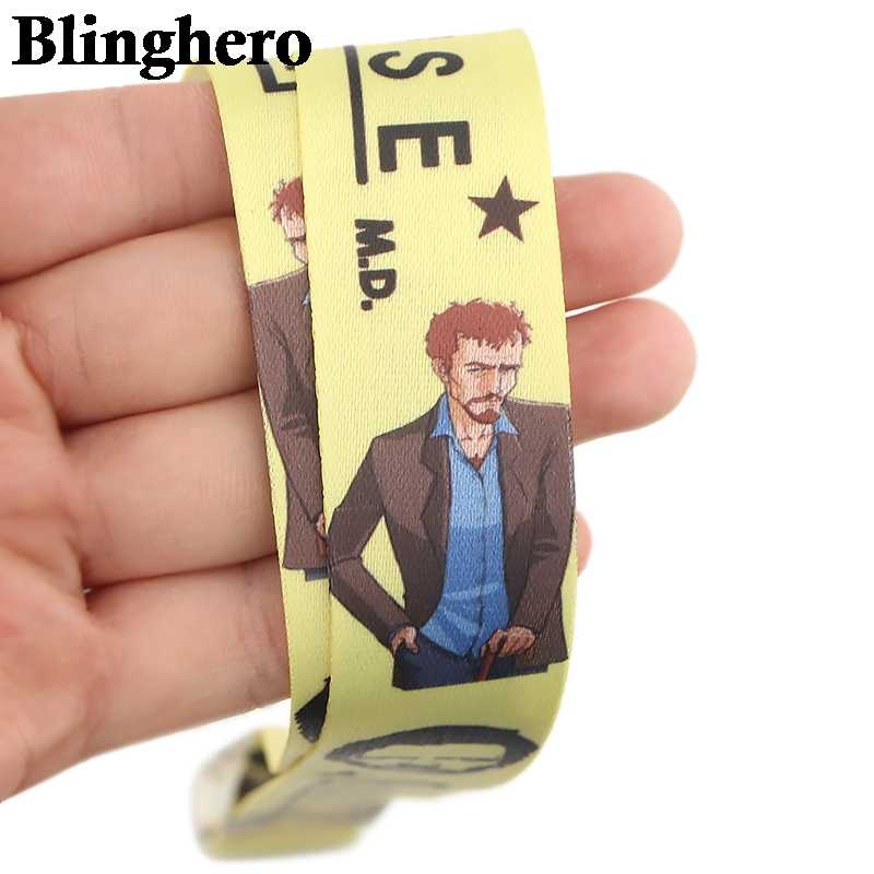 CA625 House MD Cordino Al Collo Della Cinghia per ID key Card Del Cellulare Cinghie Badge Holder FAI DA TE Corda Appesa Archetto Da Collo Accessori